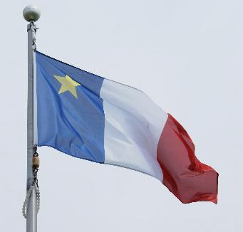 Acadie drapeau