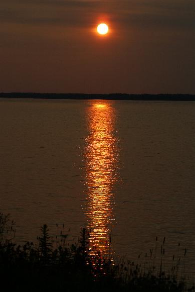 Caraquet coucher soleil 1