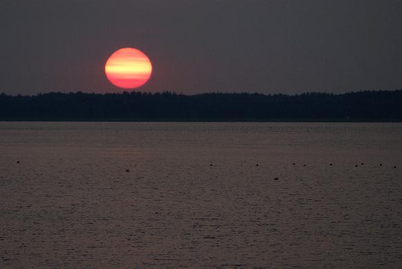 Caraquet coucher soleil 2