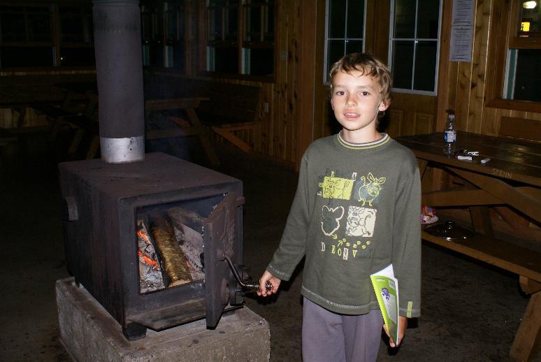 cap breton camp Mac intosh